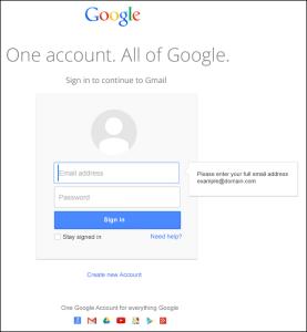 Nueva página de inicio de sesión para los clientes de Google Apps