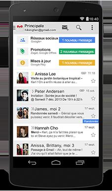 Gmail Nexus