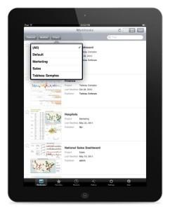 Mobile Business Intelligence: Tableau