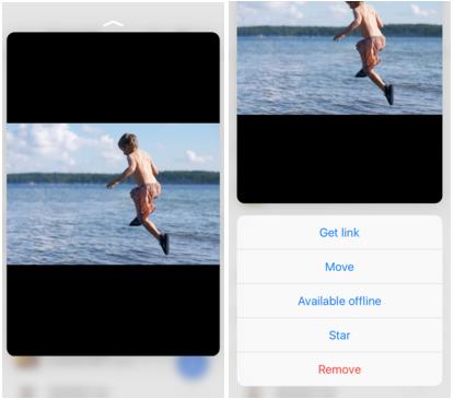 App de Google Drive iOS