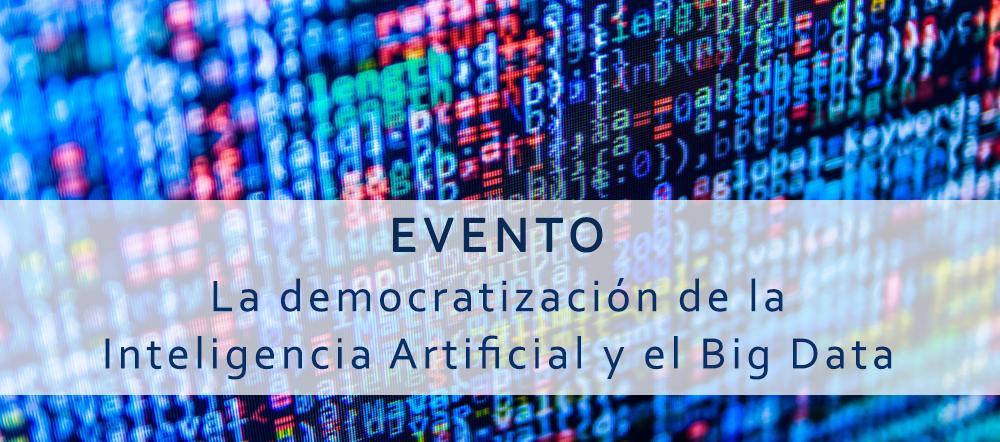 Evento I.A. Big Data Google Cloud