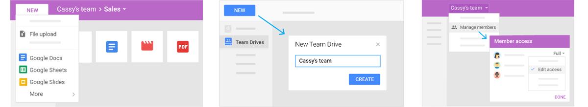 team drives