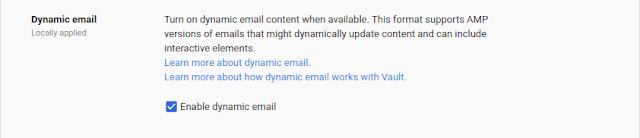 Novidades do Gmail