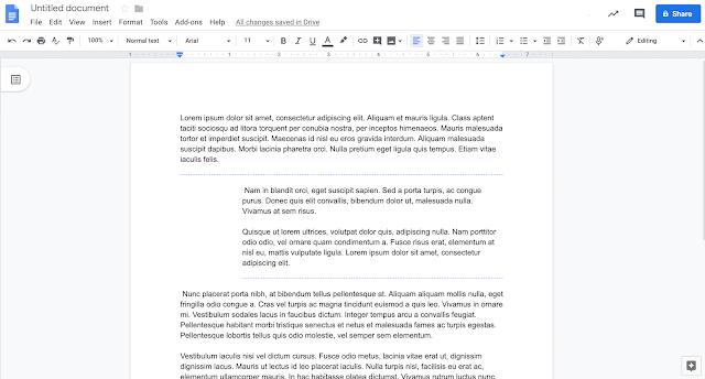 formatação Documentos