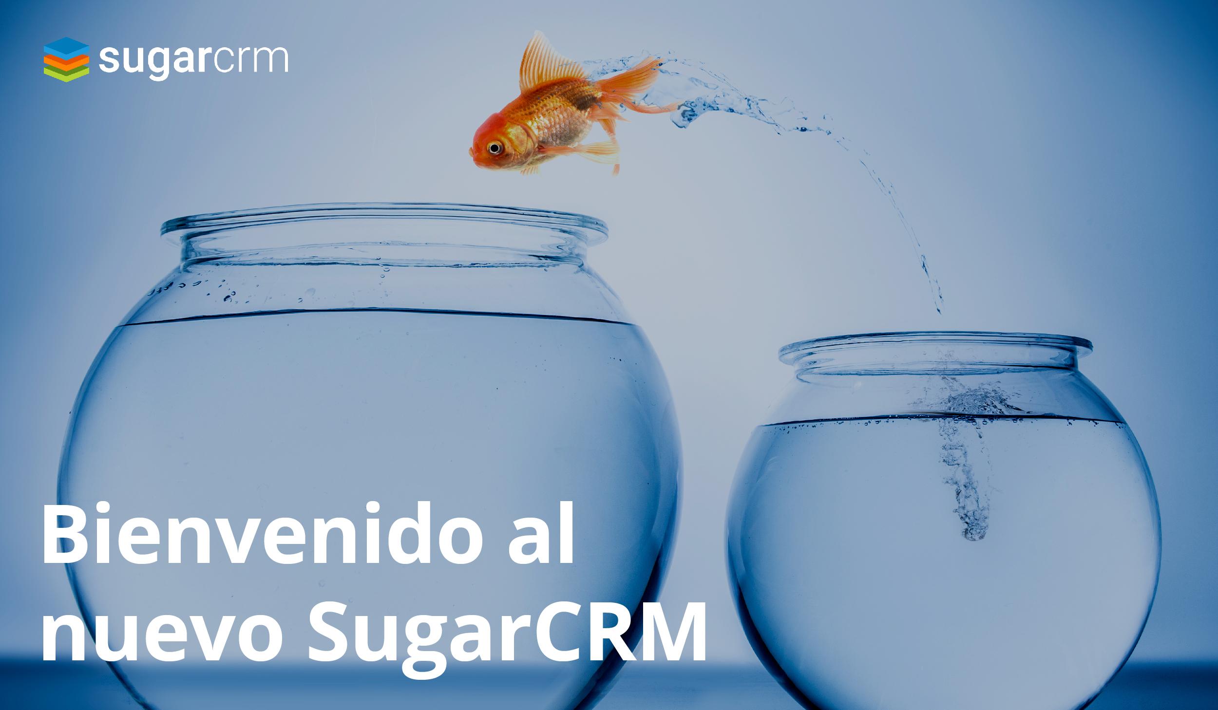 Bienvenido al nuevo SugarCRM