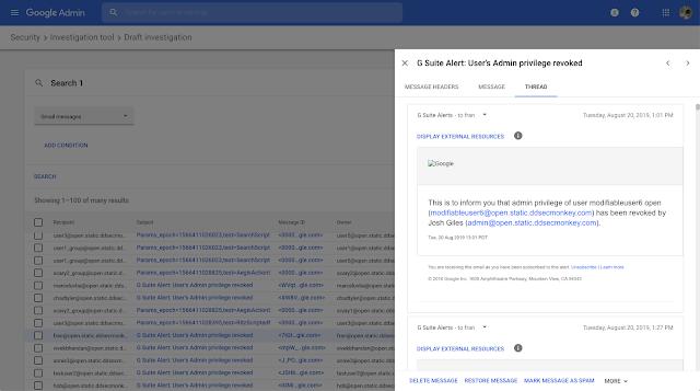 Control seguridad Gmail