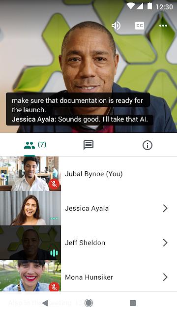 Subtitulado instantáneo en Hangouts Meet