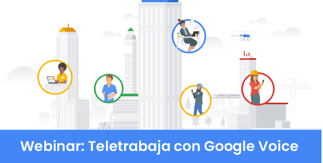 Teletrabaja con Google Voice
