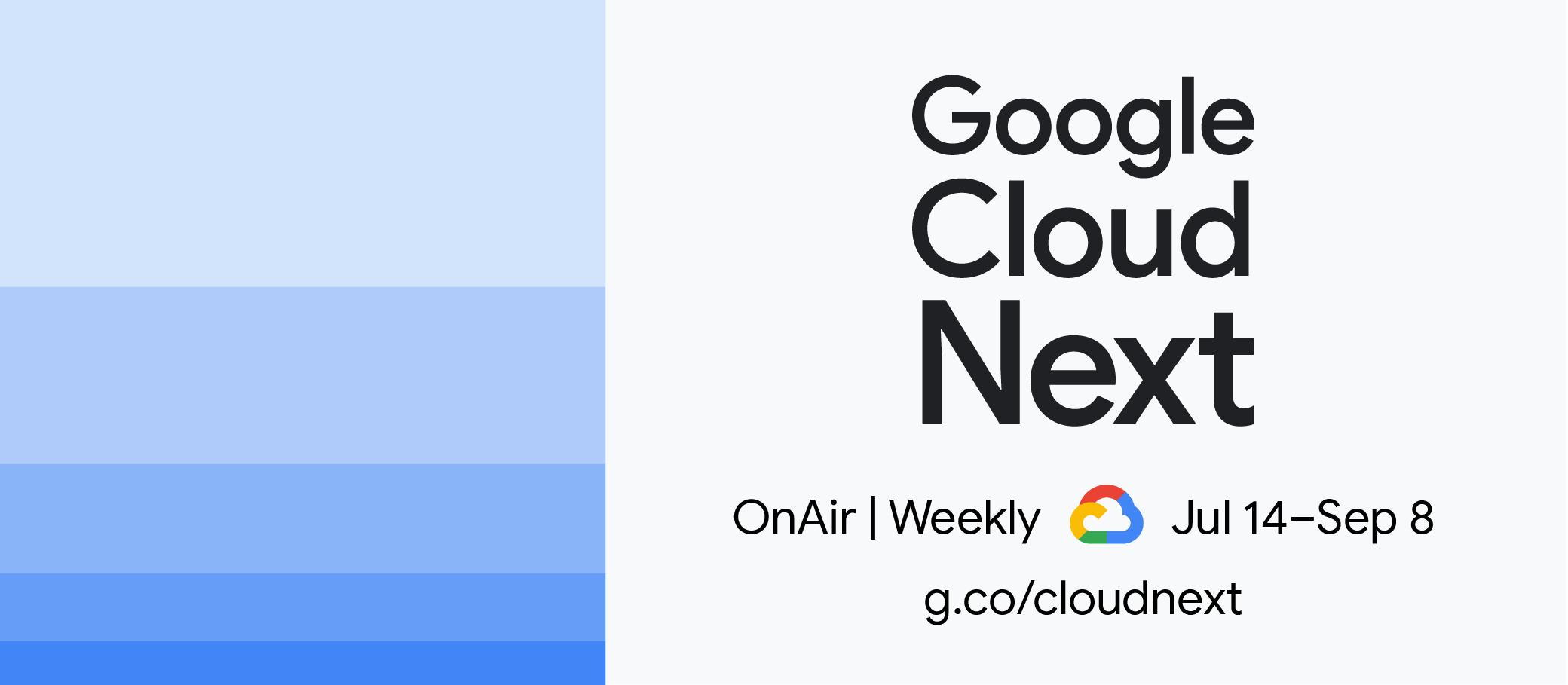 Google Cloud Next'20 On Air