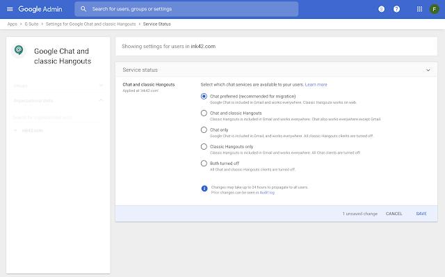 Novidades Google Meet Chat e videochamadas
