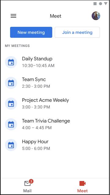 Novedades en Google Meet