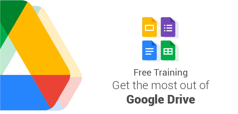 Free Training: GET THE MOST OUT OF GOOGLE DRIVE