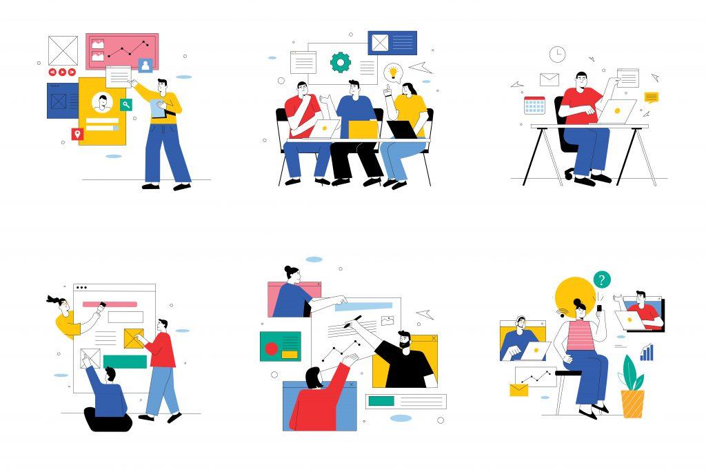Google Workspace colaboración organización empleados