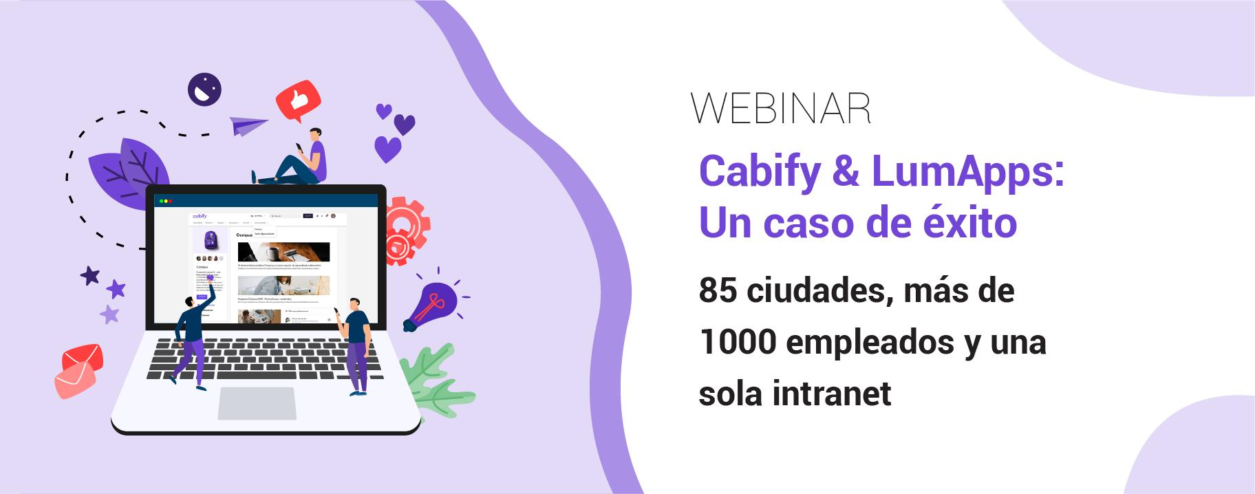 Cabify & LumApps: Un caso de éxito
