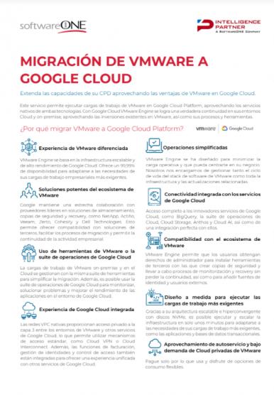 Migración de vmware a Google Cloud